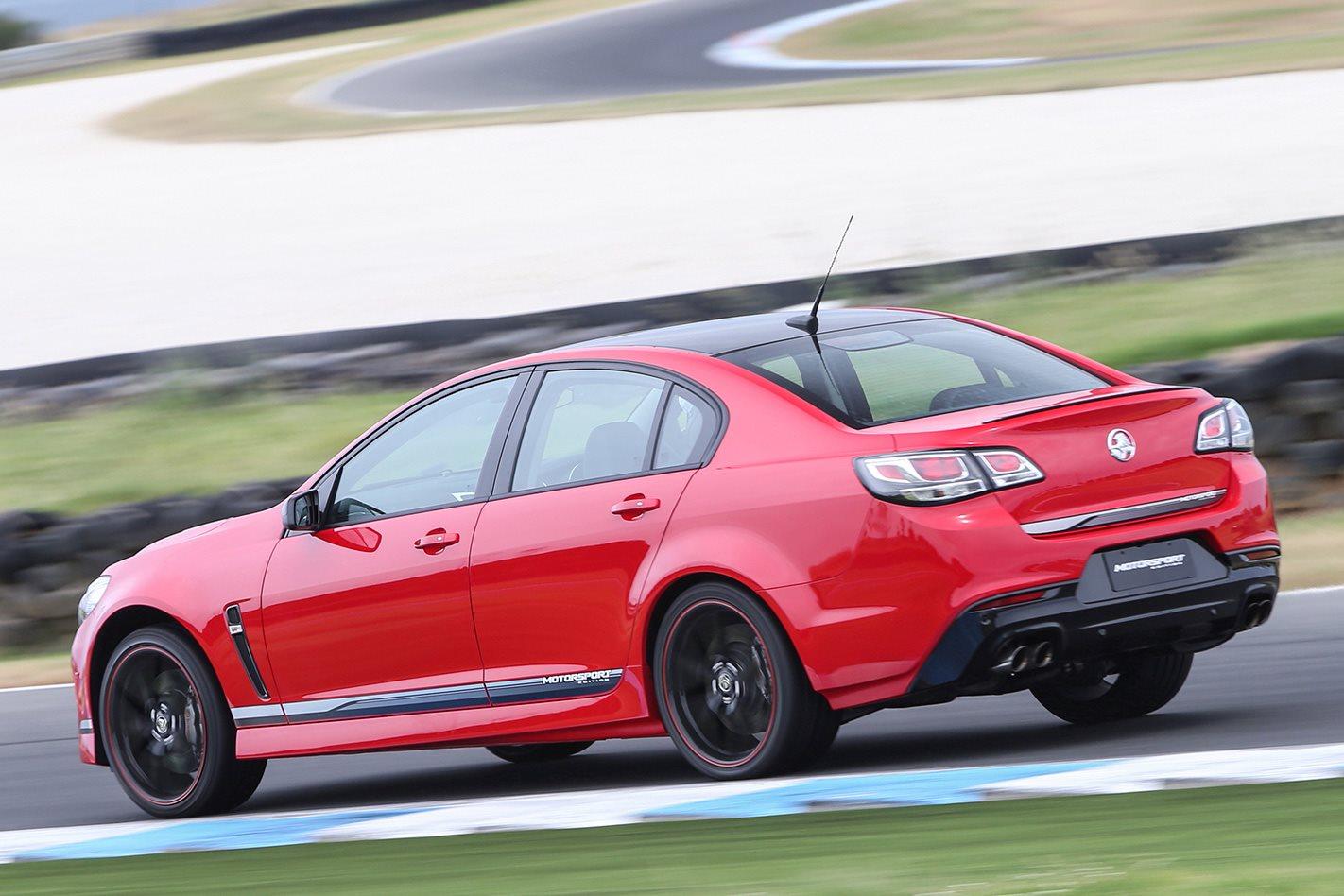 2017 Holden Commodore Motorsport rear