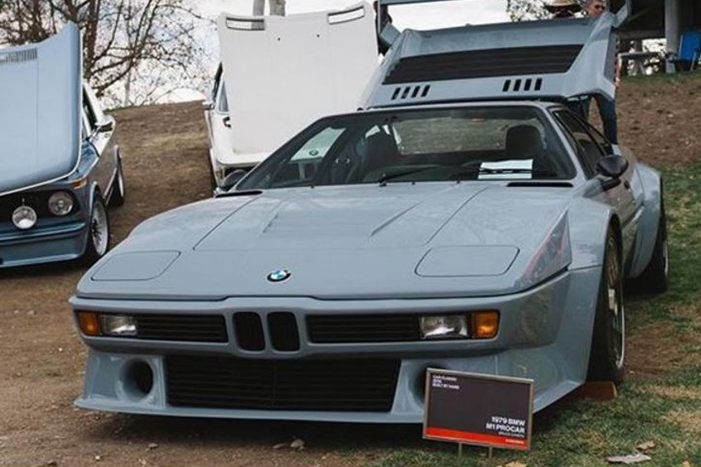 One-off road-legal 1979 BMW M1 Procar