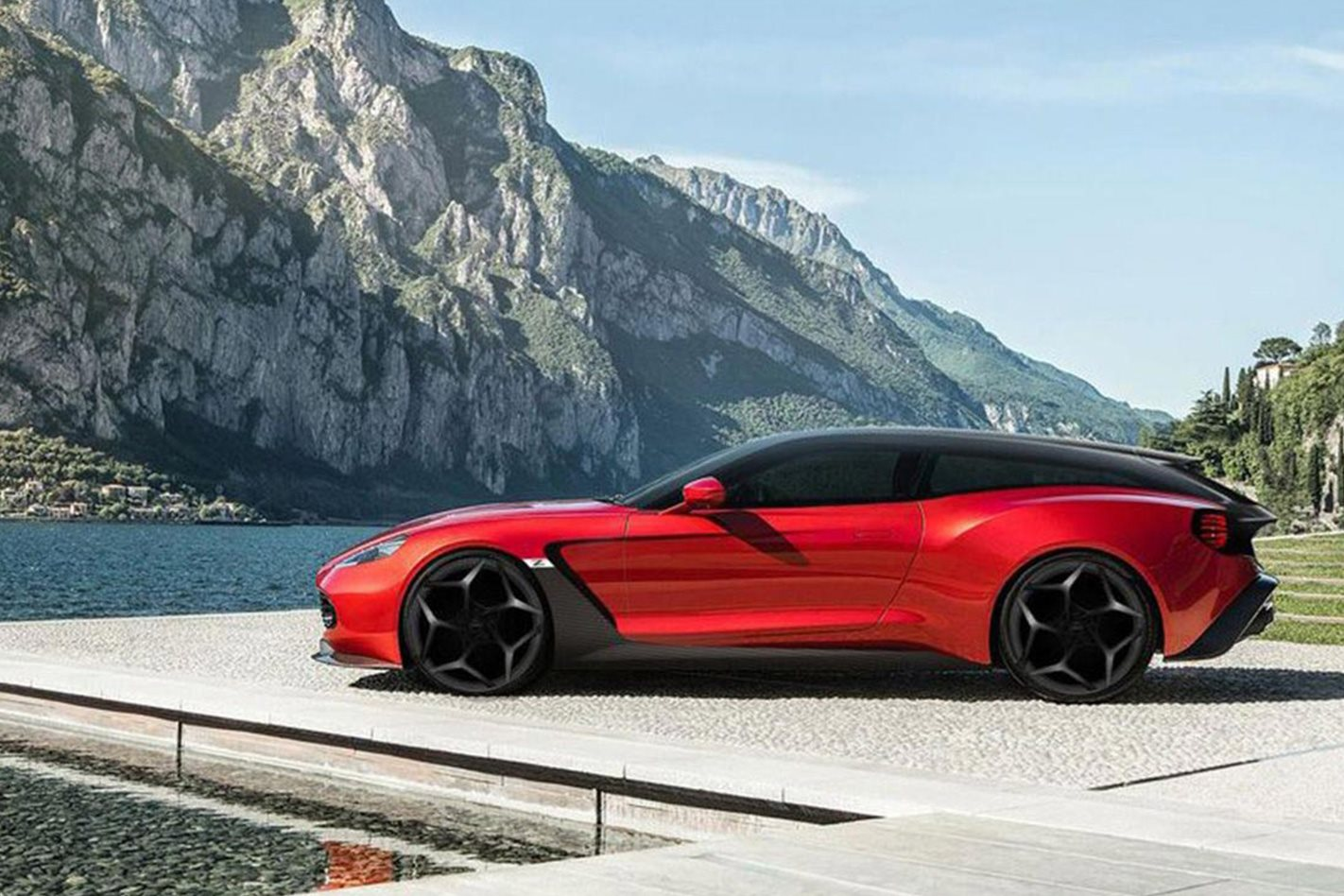 Aston Martin Vanquish Zagato Shooting Brake Speedster