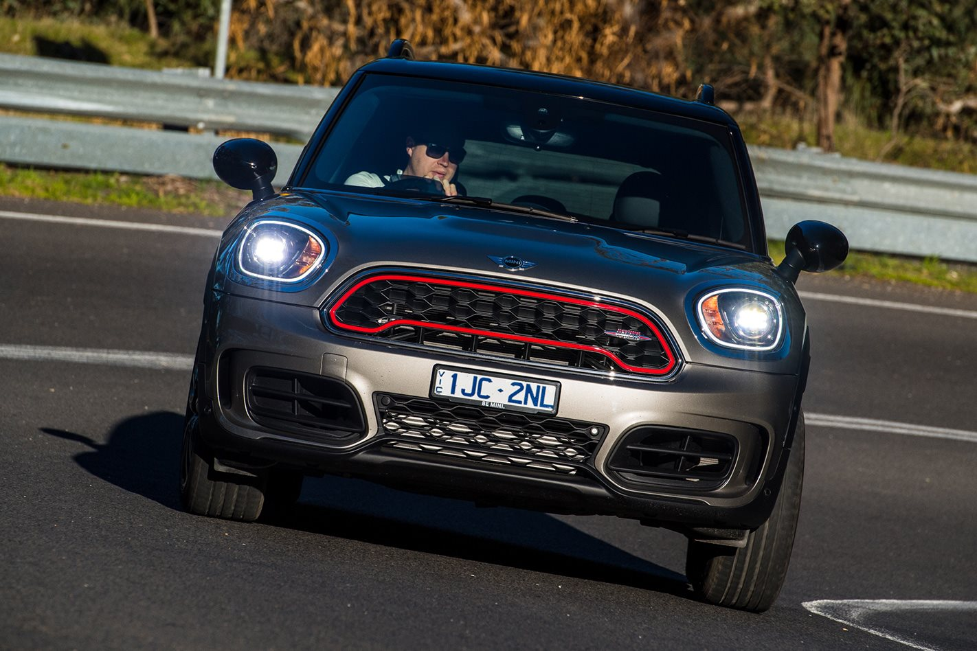 2017 Mini Countryman JCW headlights