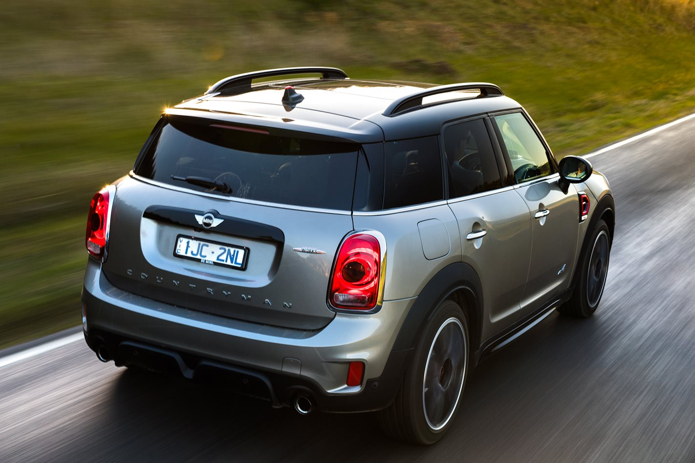2017 Mini Countryman JCW rear