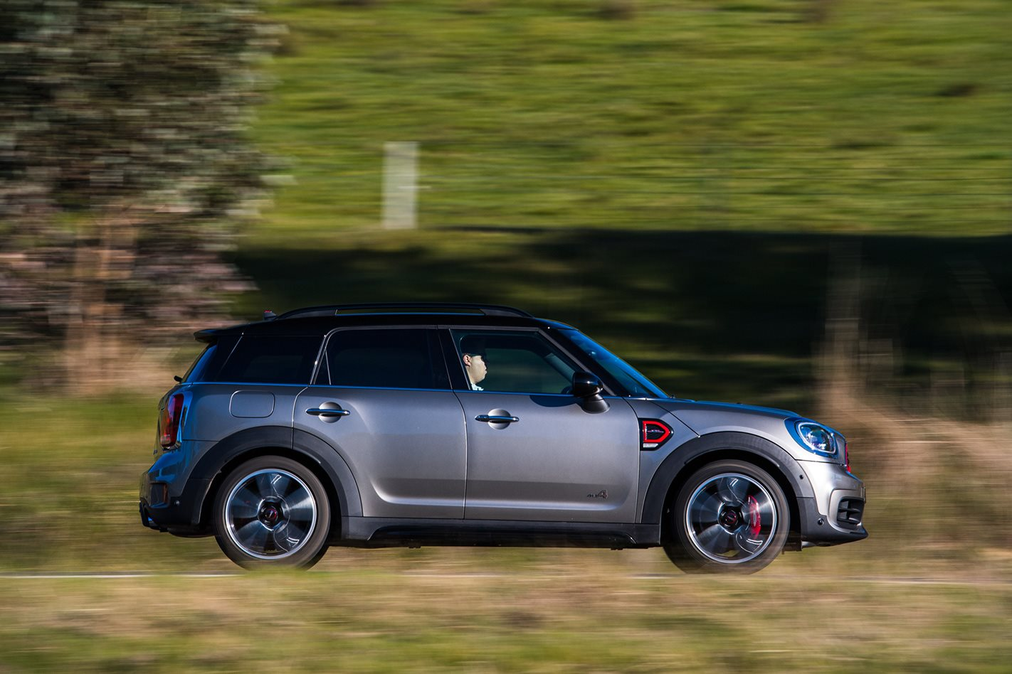 2017 Mini Countryman JCW side
