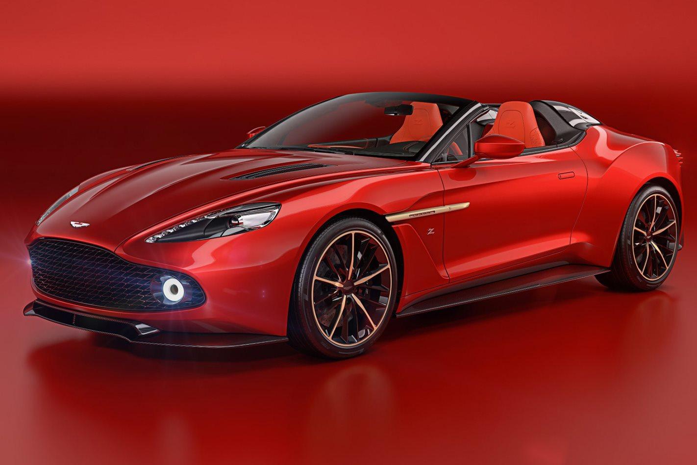Aston Martin Vanquish Zagato Speedster front