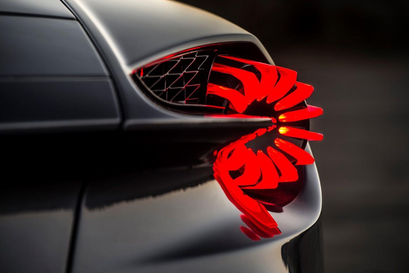Aston Martin Vanquish Zagato brakelight
