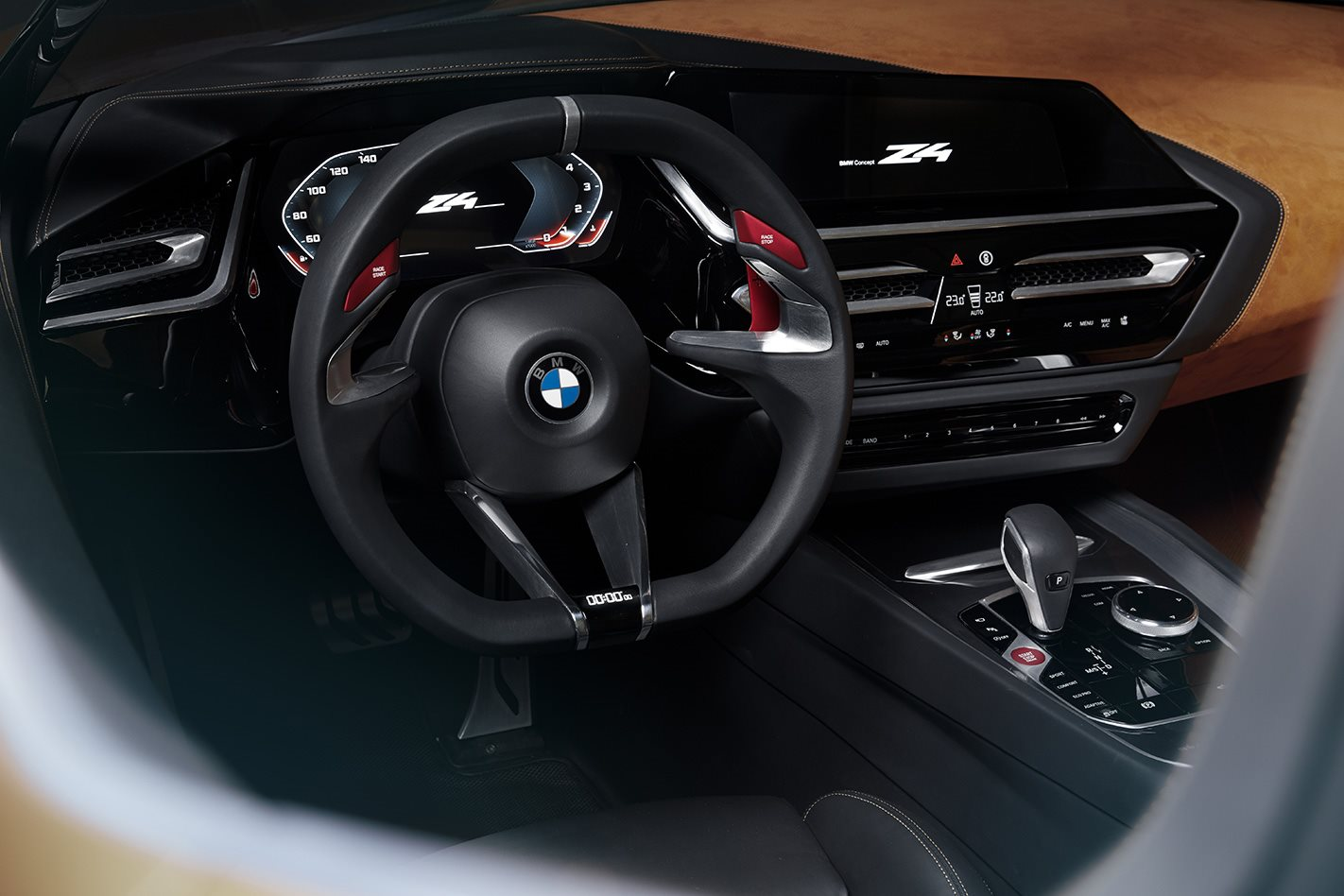 BMW Z4 Concept interior