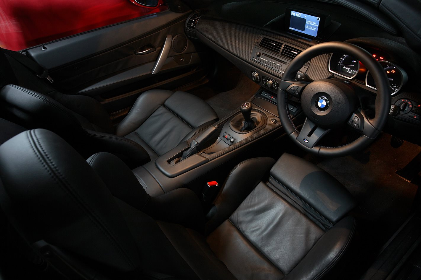 2006 BMW Z4 M interior