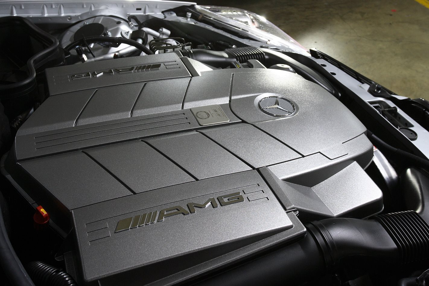 2006 Mercedes AMG SLK55 engine