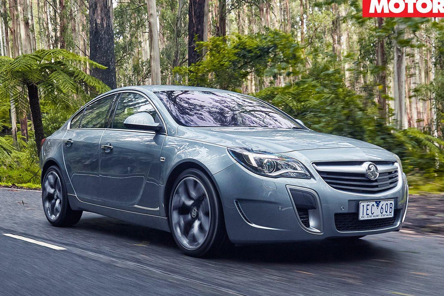 2016 Holden Insignia VXR