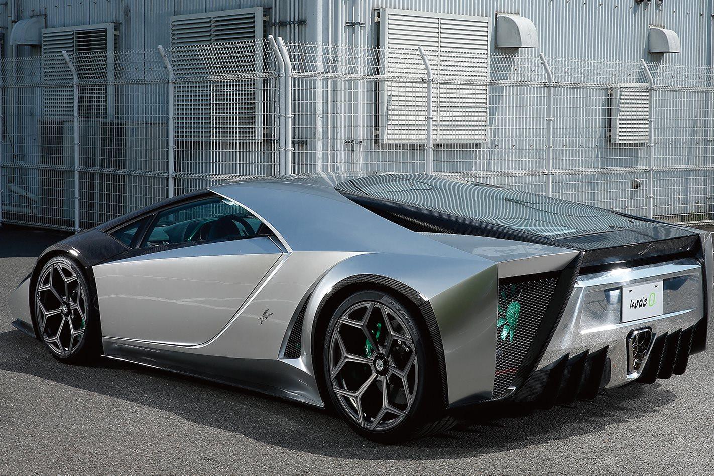 Kode 0 Lamborghini Aventador rear