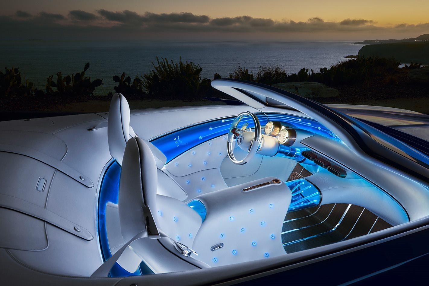 Mercedes Maybach 6 Cabriolet cabin
