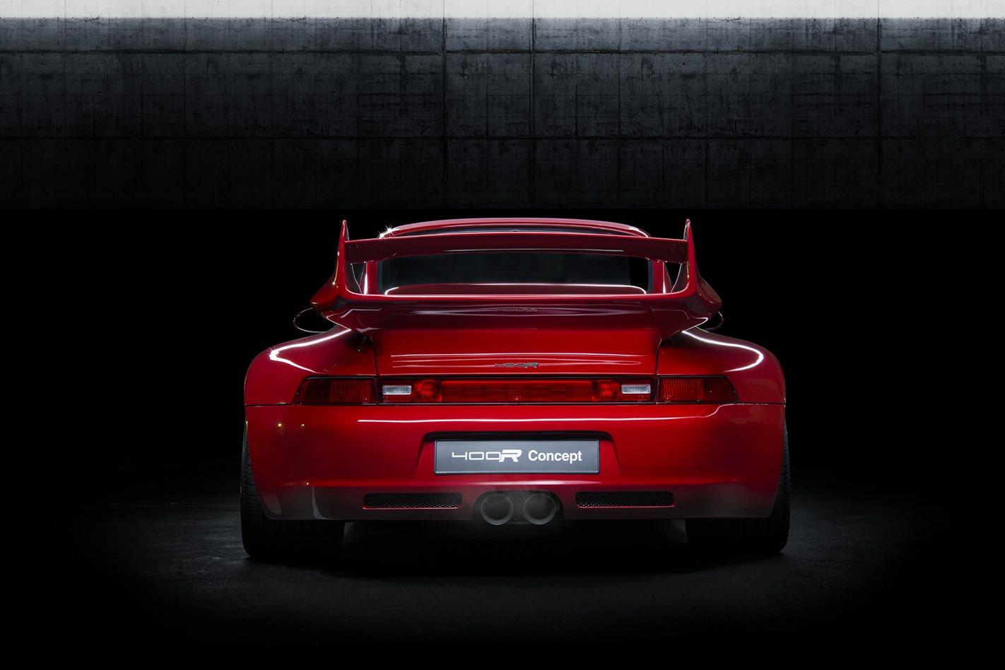 Porsche 993 GT3 RS rear