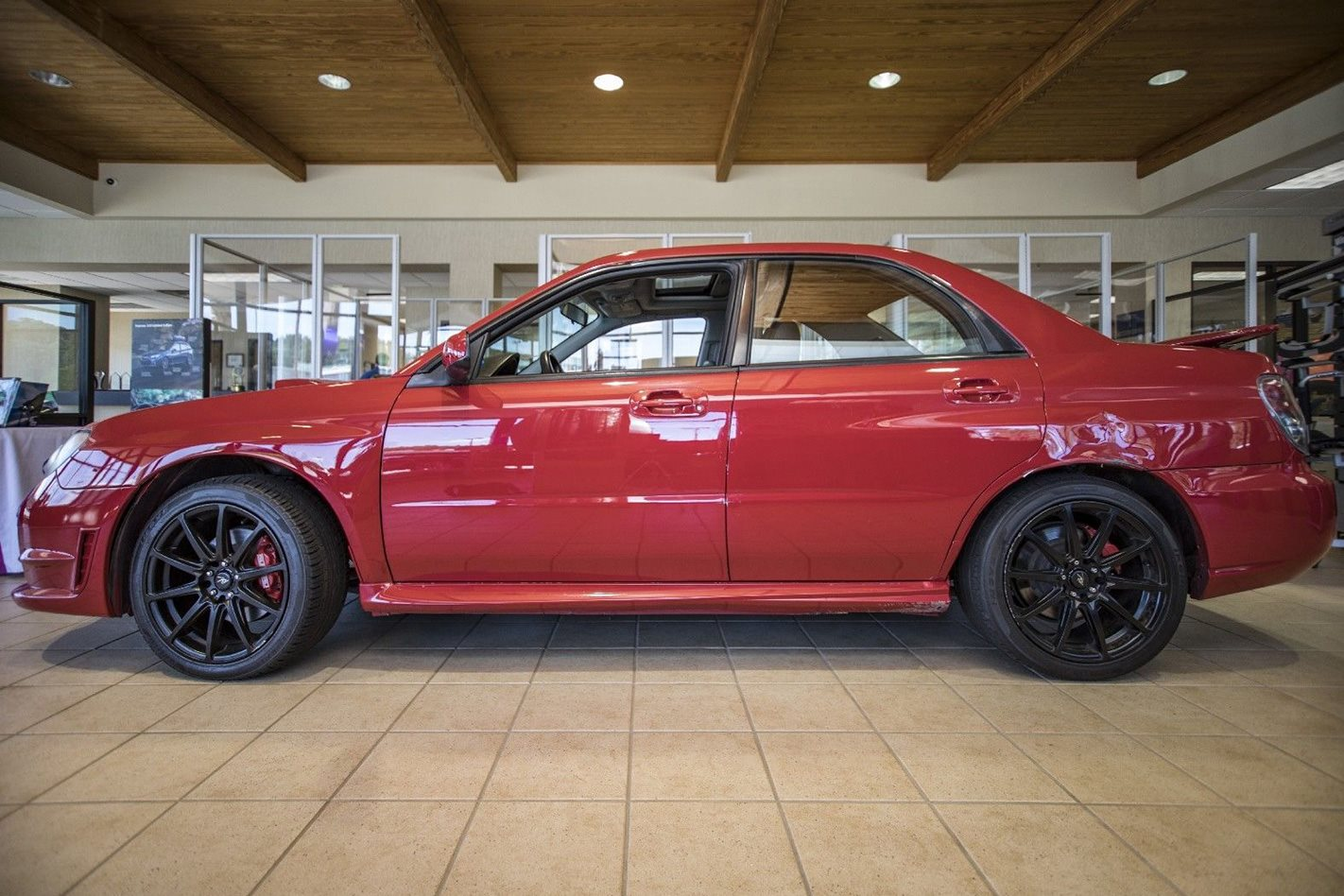 2006 Subaru Impreza WRX from Baby Driver side