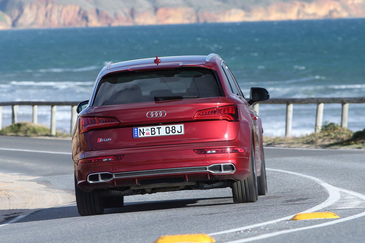 2018 Audi SQ5 rear