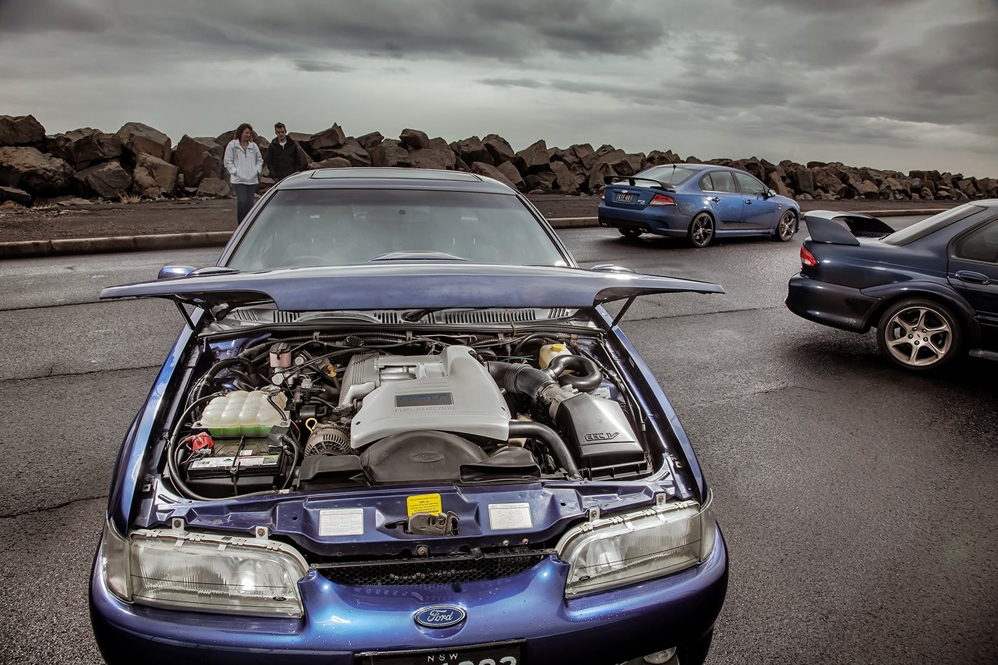 1993 EB II Ford Falcon GT engine.jpg