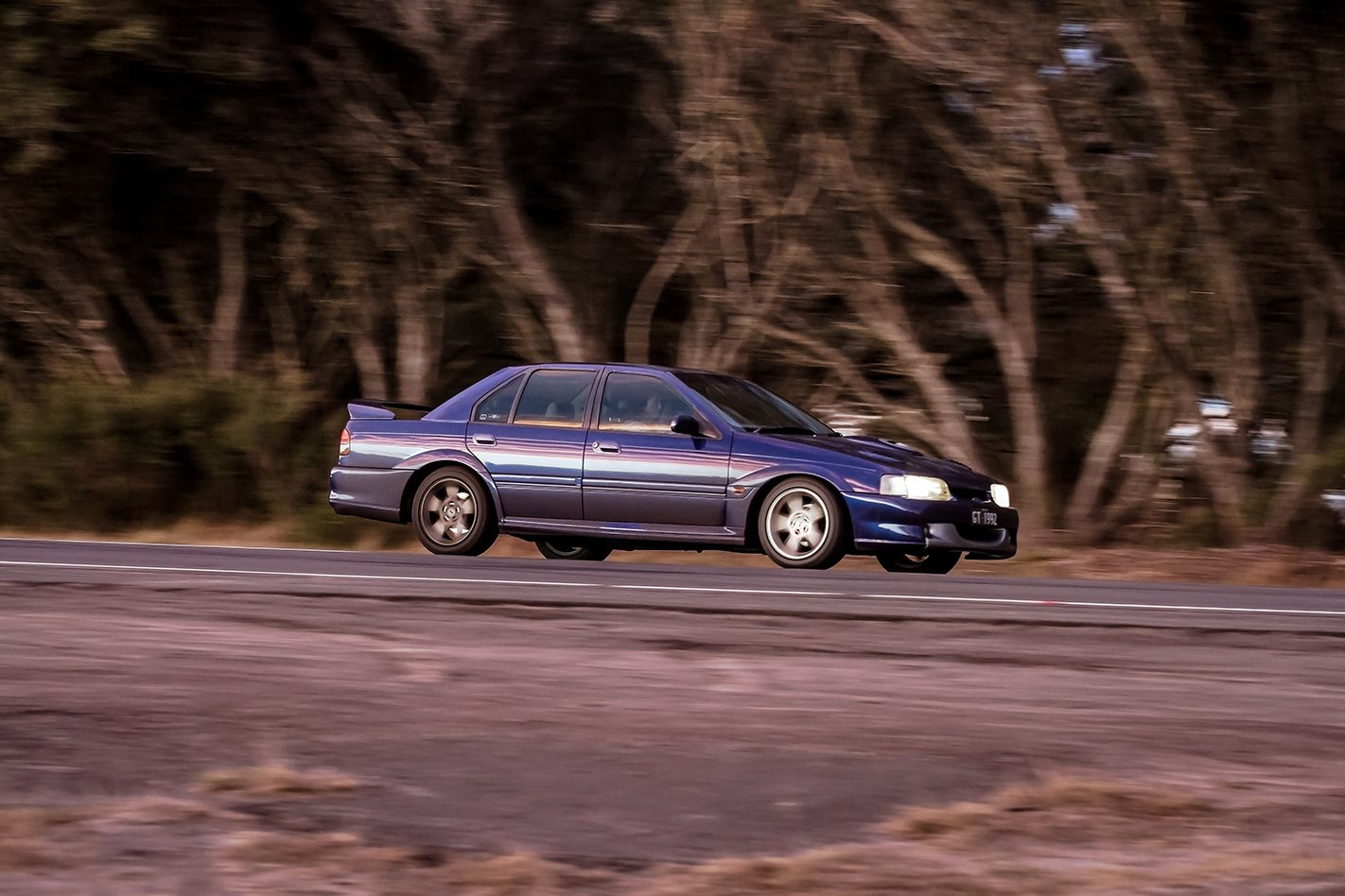 1993 EB II Ford Falcon GT side.jpg