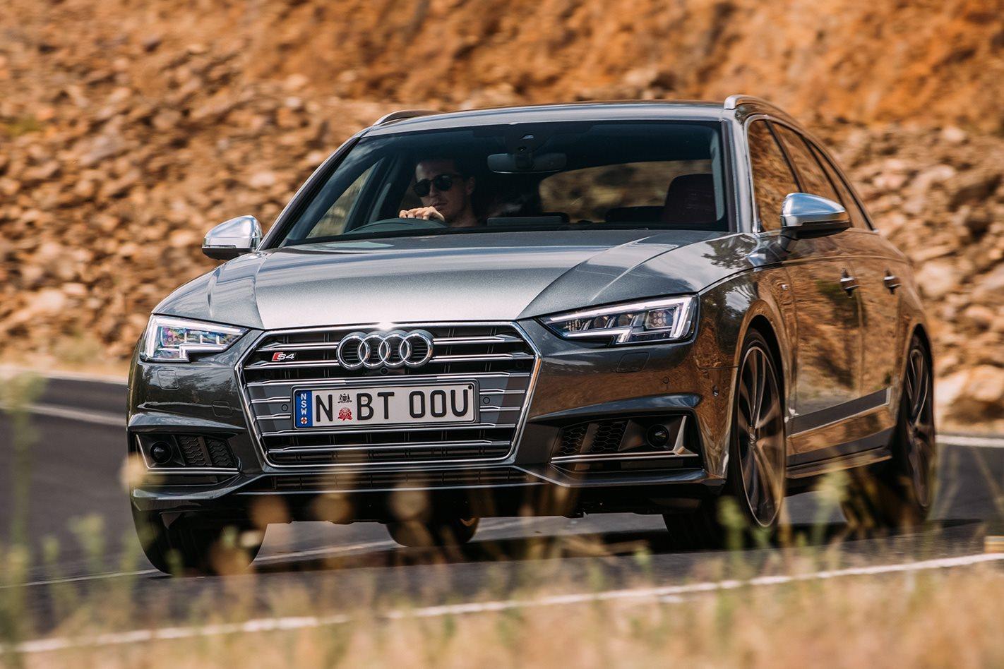 2017 Audi S4 Avant front