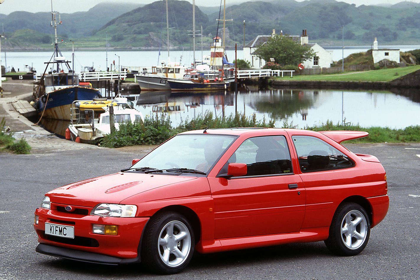 1992 Ford Escort RS Cosworth front