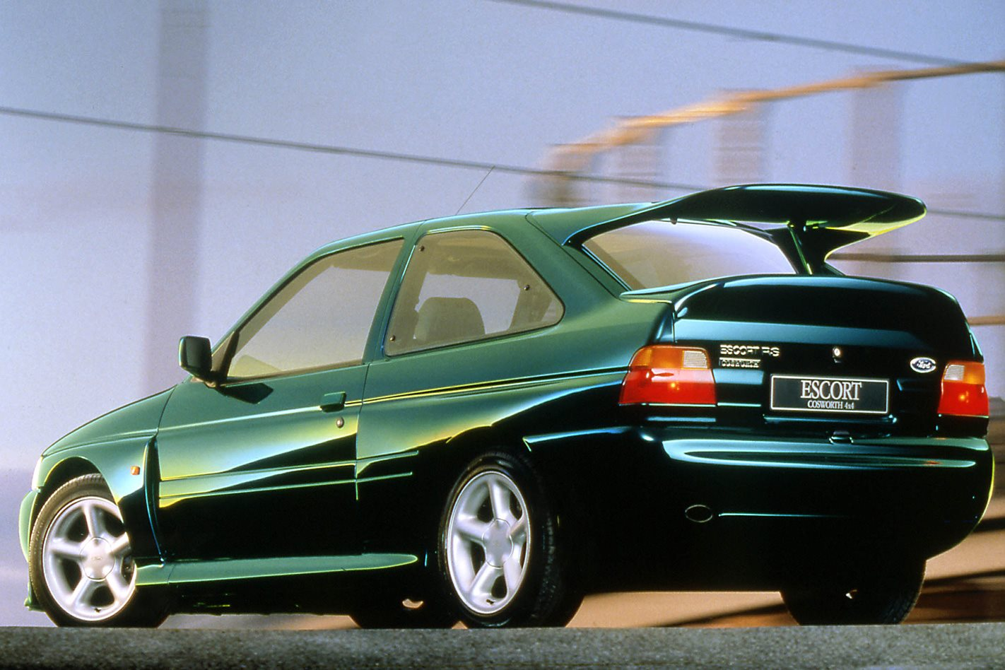 1992 Ford Escort RS Cosworth Spoiler