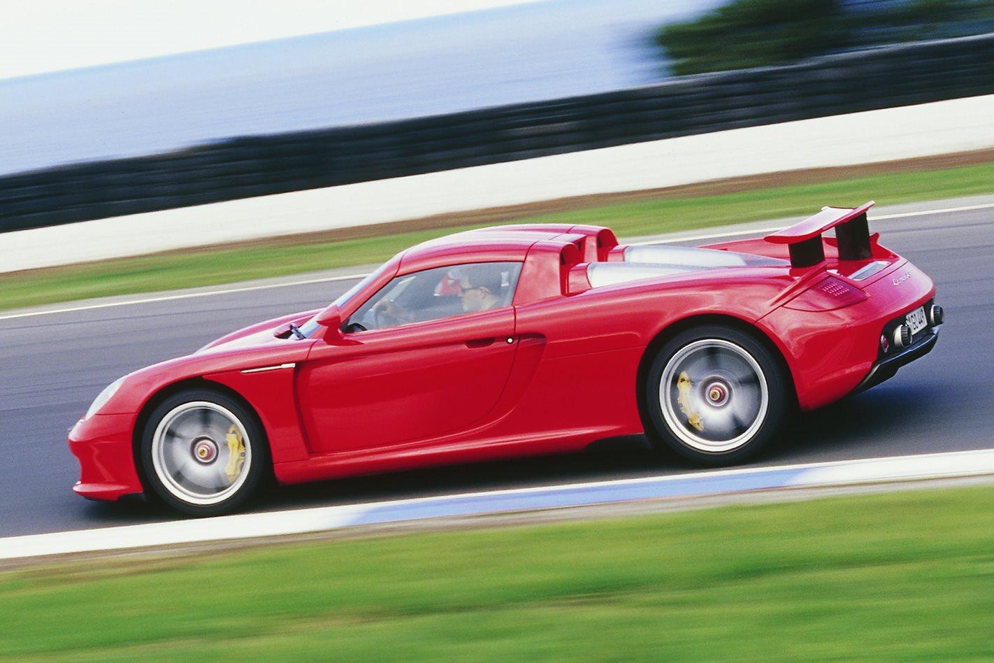 2004 Porsche Carrera GT exterior