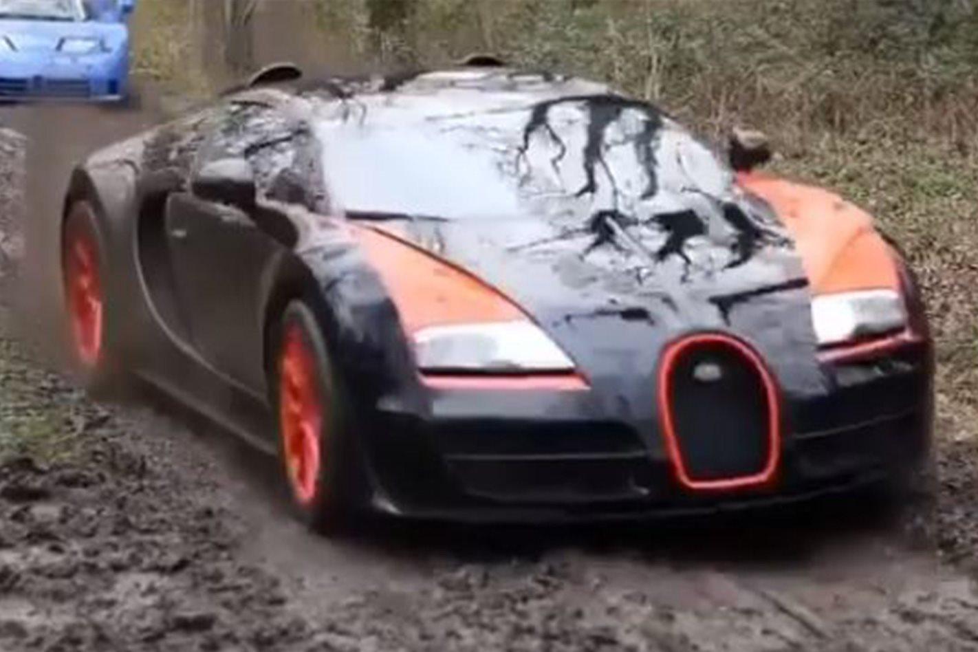 Bugatti Veyron offroad