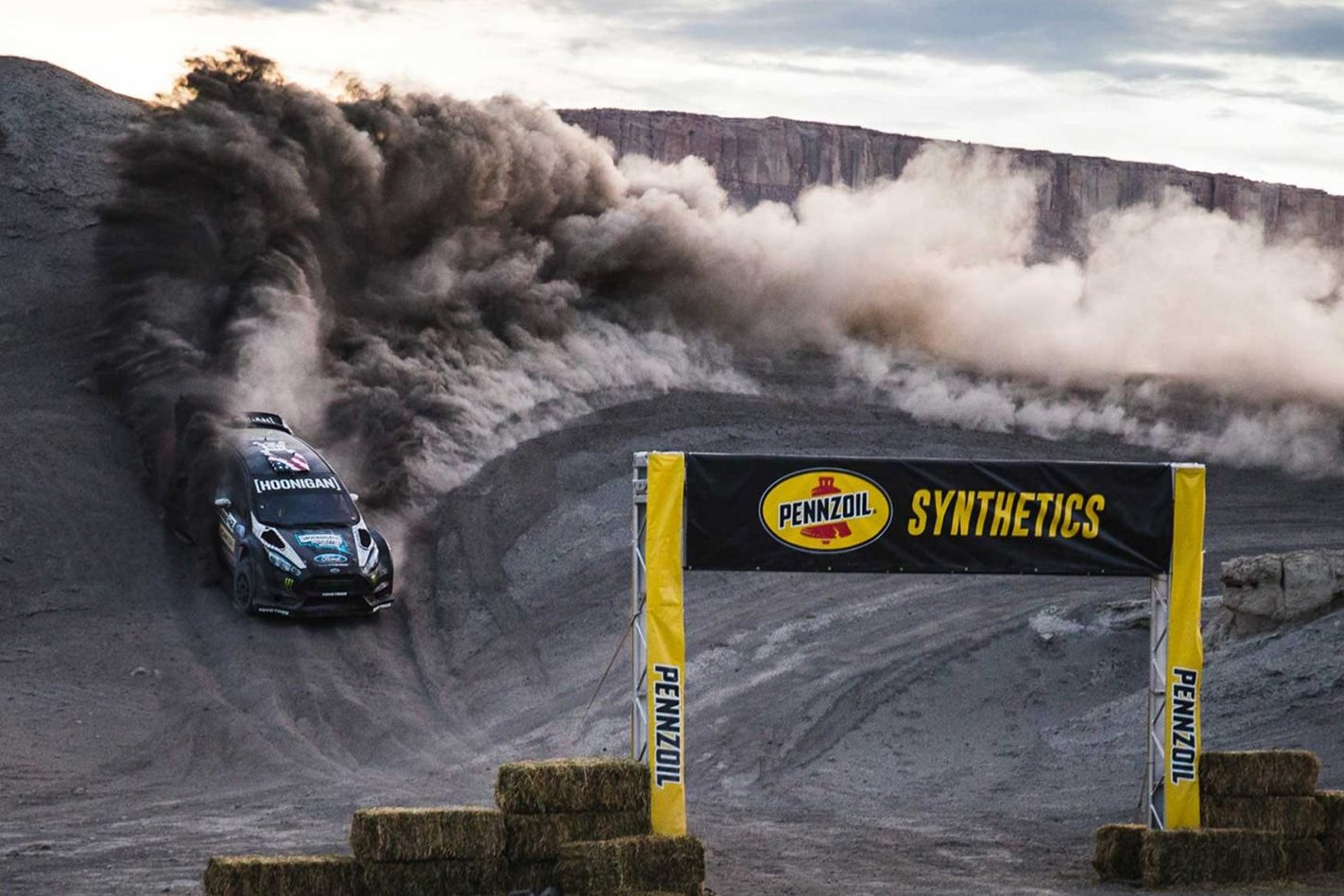 Terrakhana - Ken Block's Ford Fiesta ST RX43 on dirt