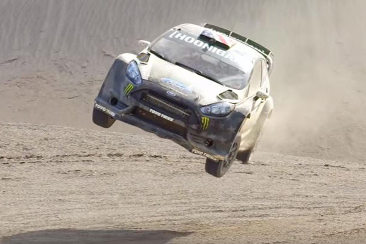 Ford Fiesta ST RX43 rally vehicle