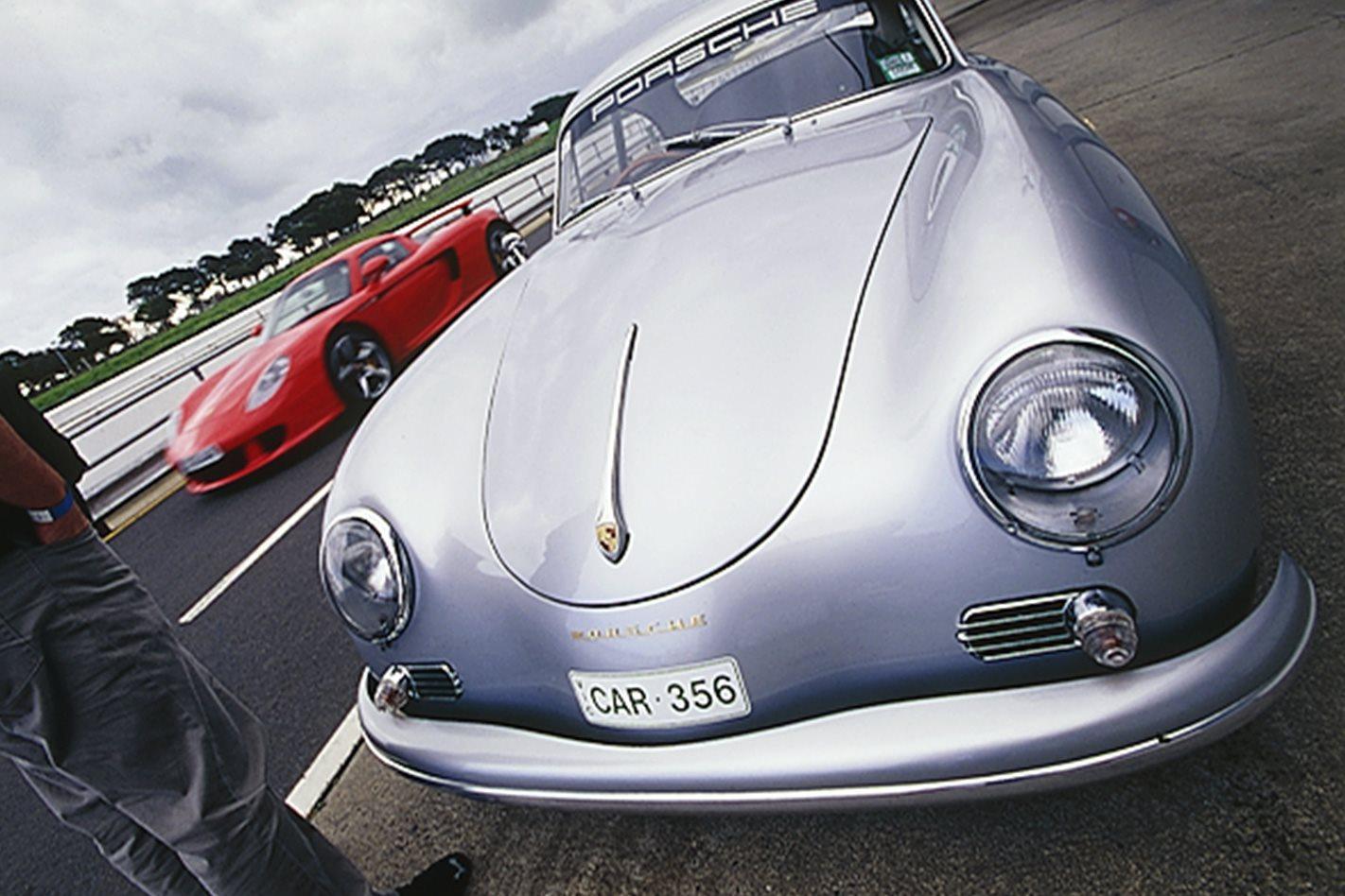 Porsche's 356 Carrera front