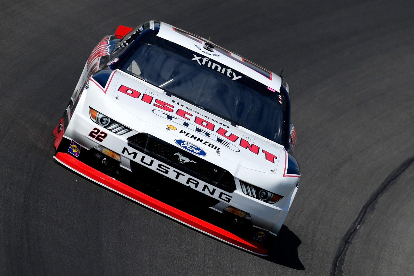 DJR Team Penske NASCAR Ford Mustang