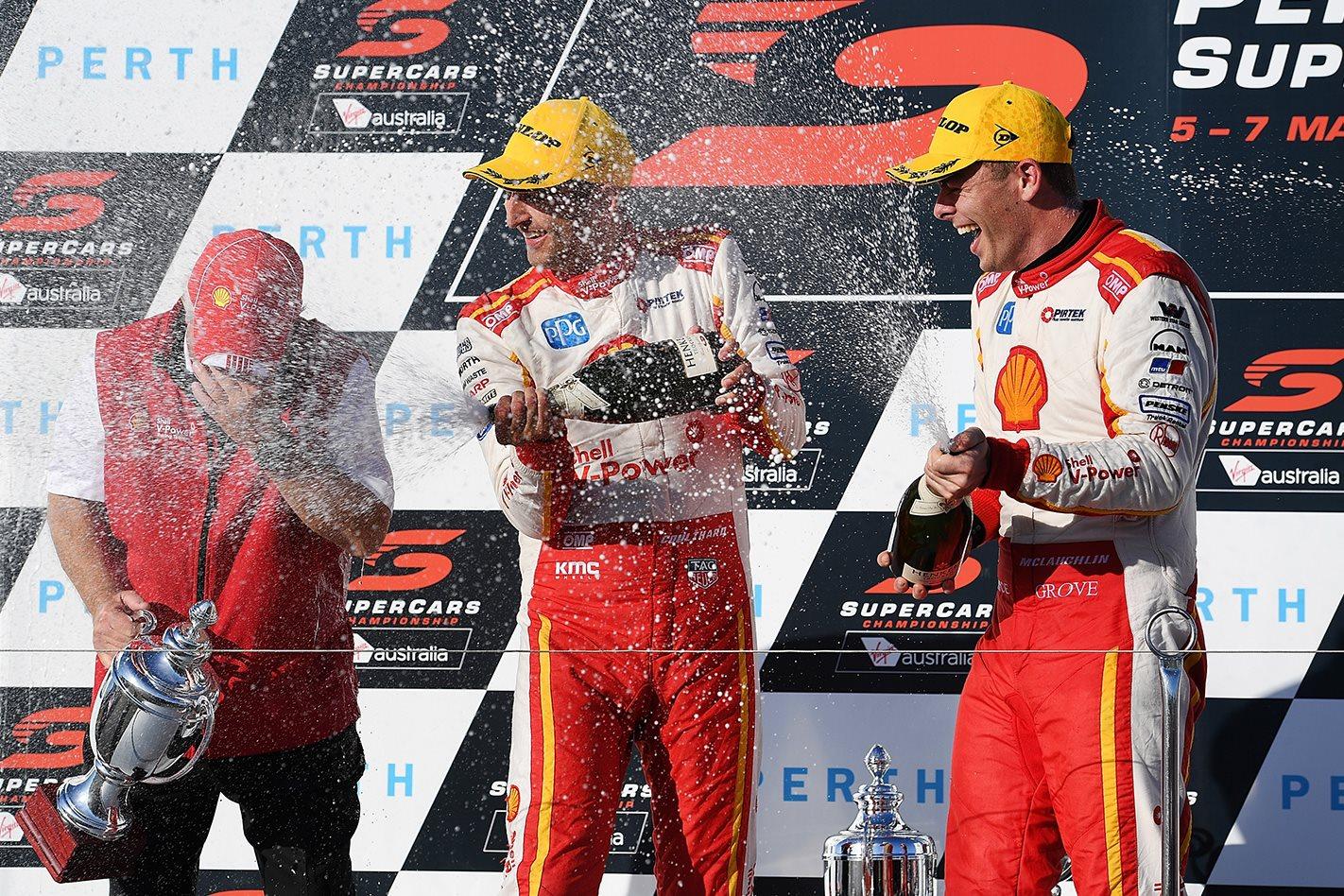 DJR Team Penske wins Perth SuperSprint