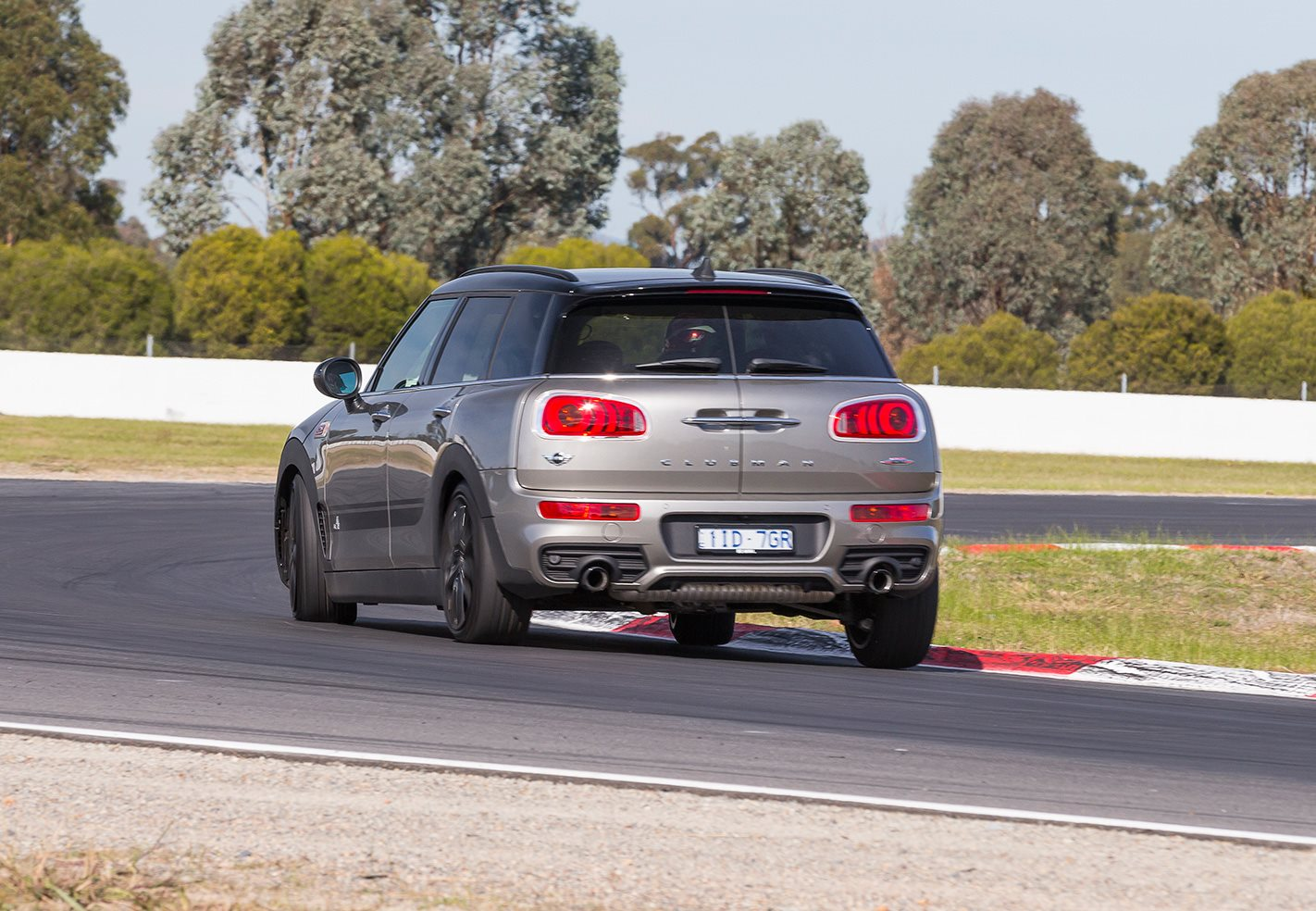 2017 Mini JCW Clubman rear.jpg
