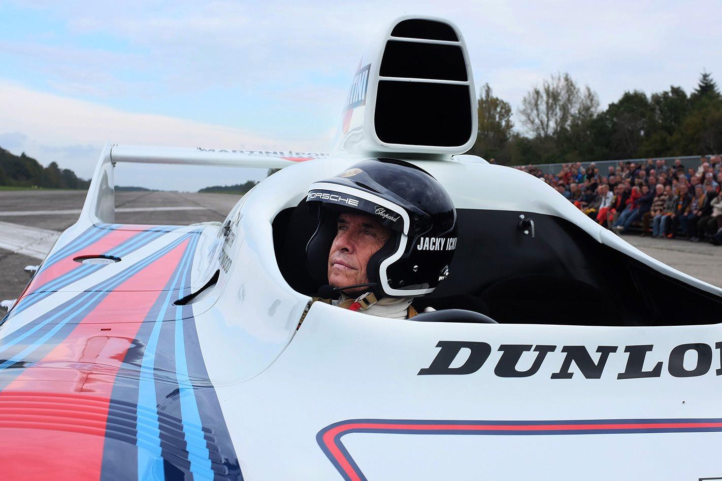 Racing legend Jacky Ickx