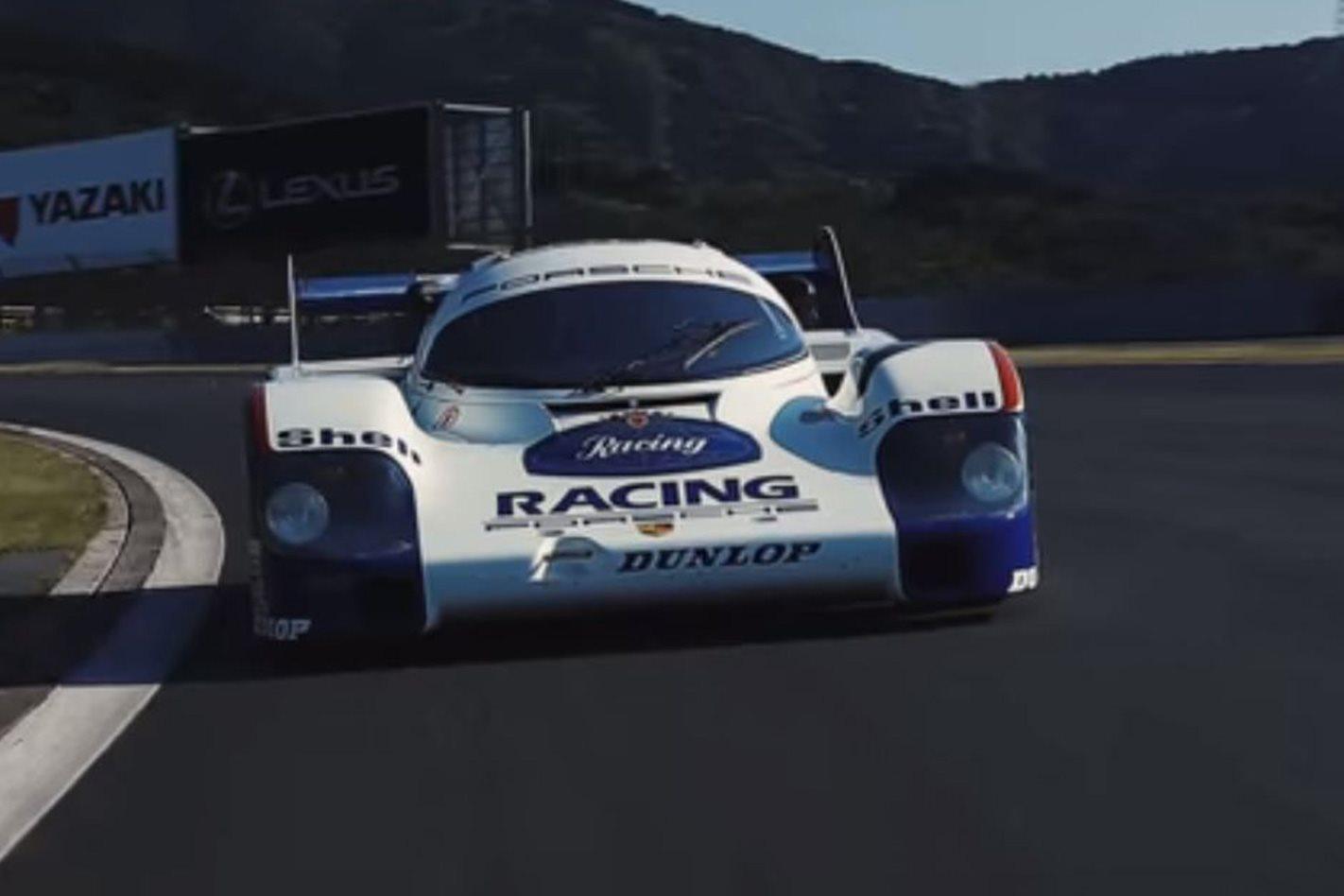 Porsche 956 at Fuji Speedway