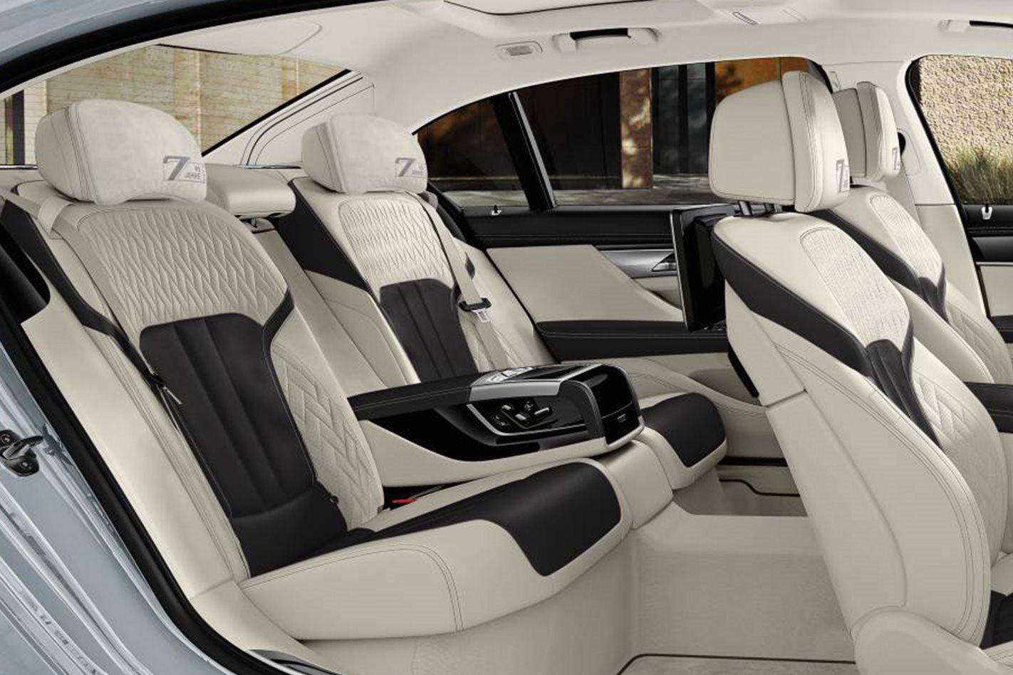 BMW 7 Series 40 Jahre rear seats