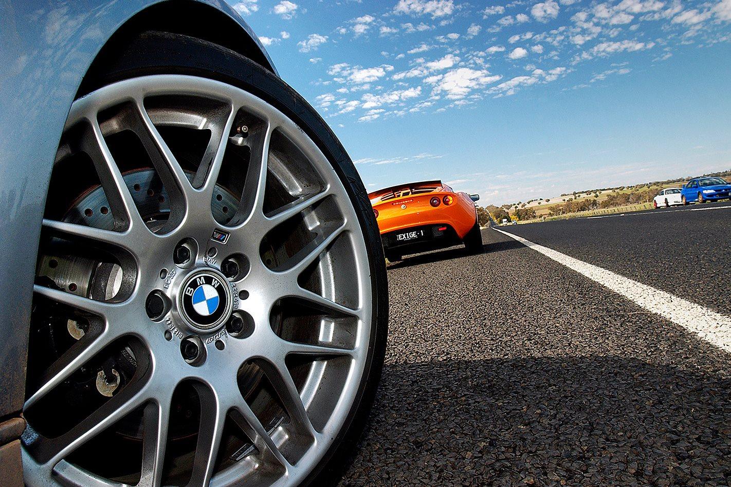 BMW M3 CSL wheel