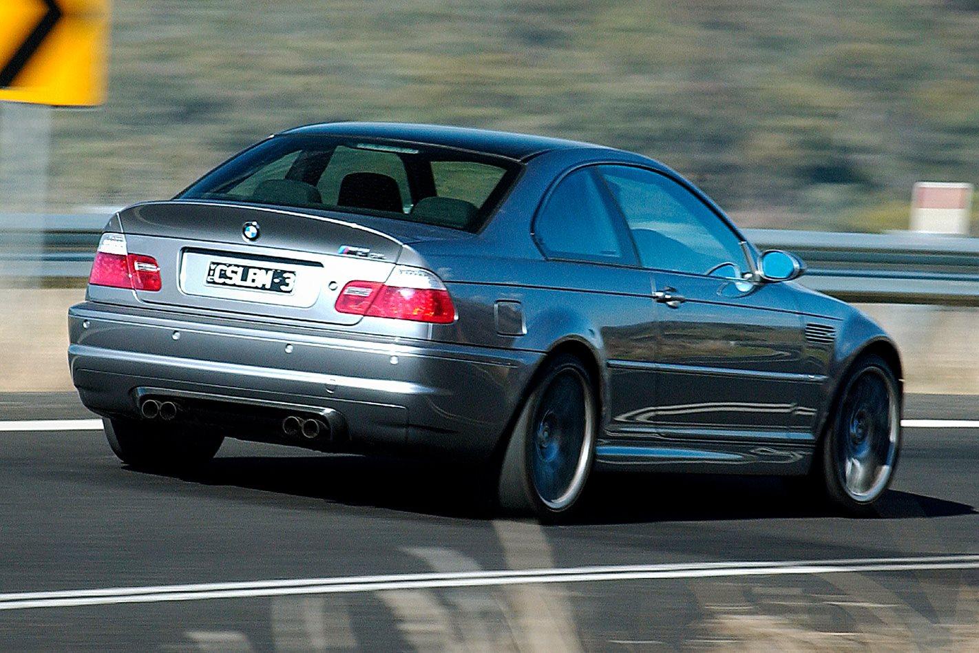 BMW M3 CSL rear