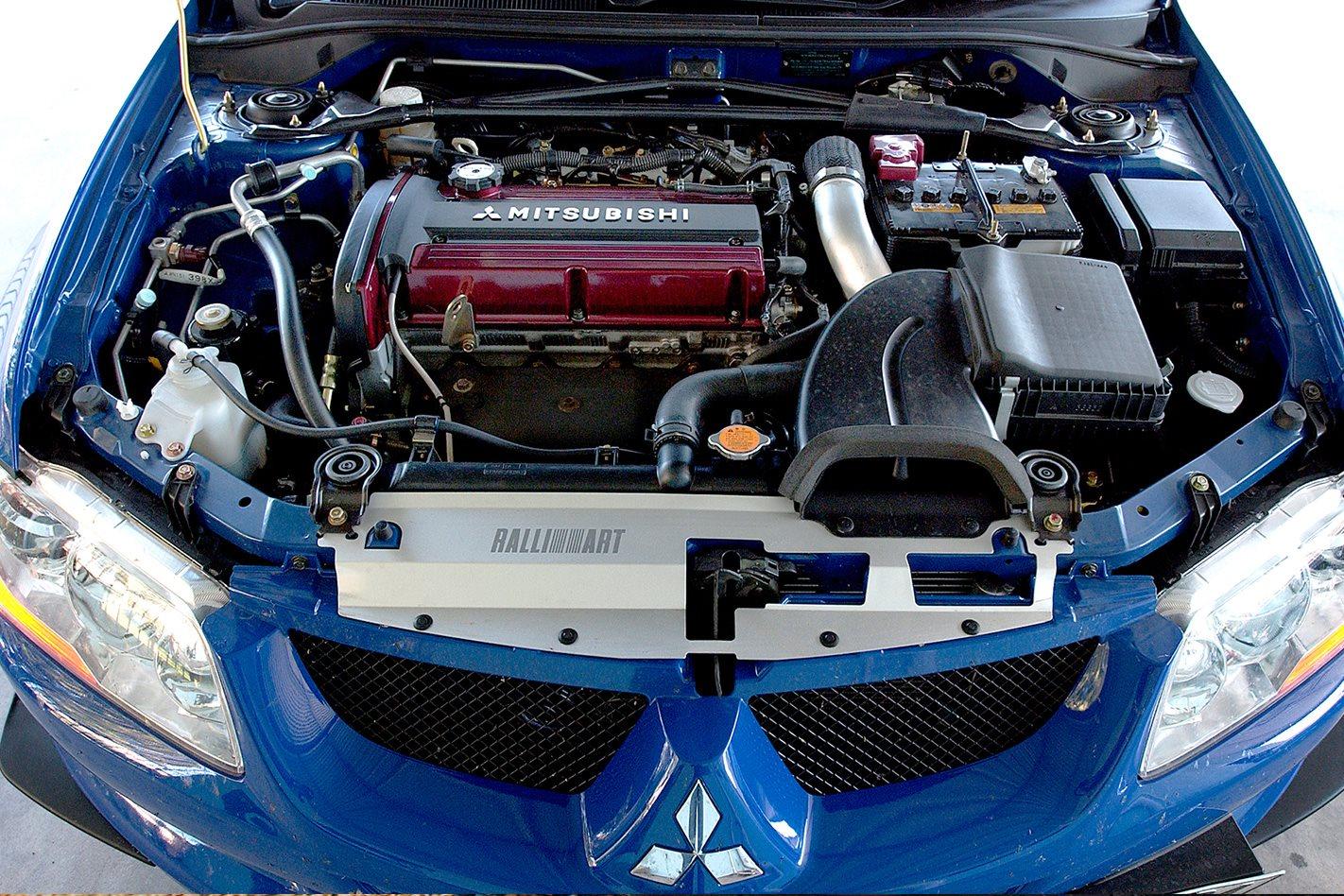 Mitsubishi Evo VIII engine