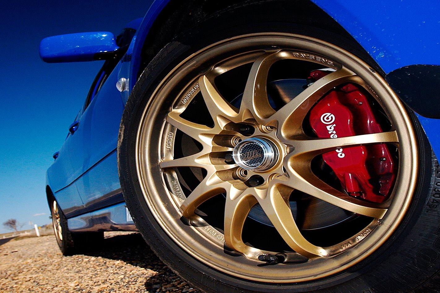 Mitsubishi Evo VIII wheel