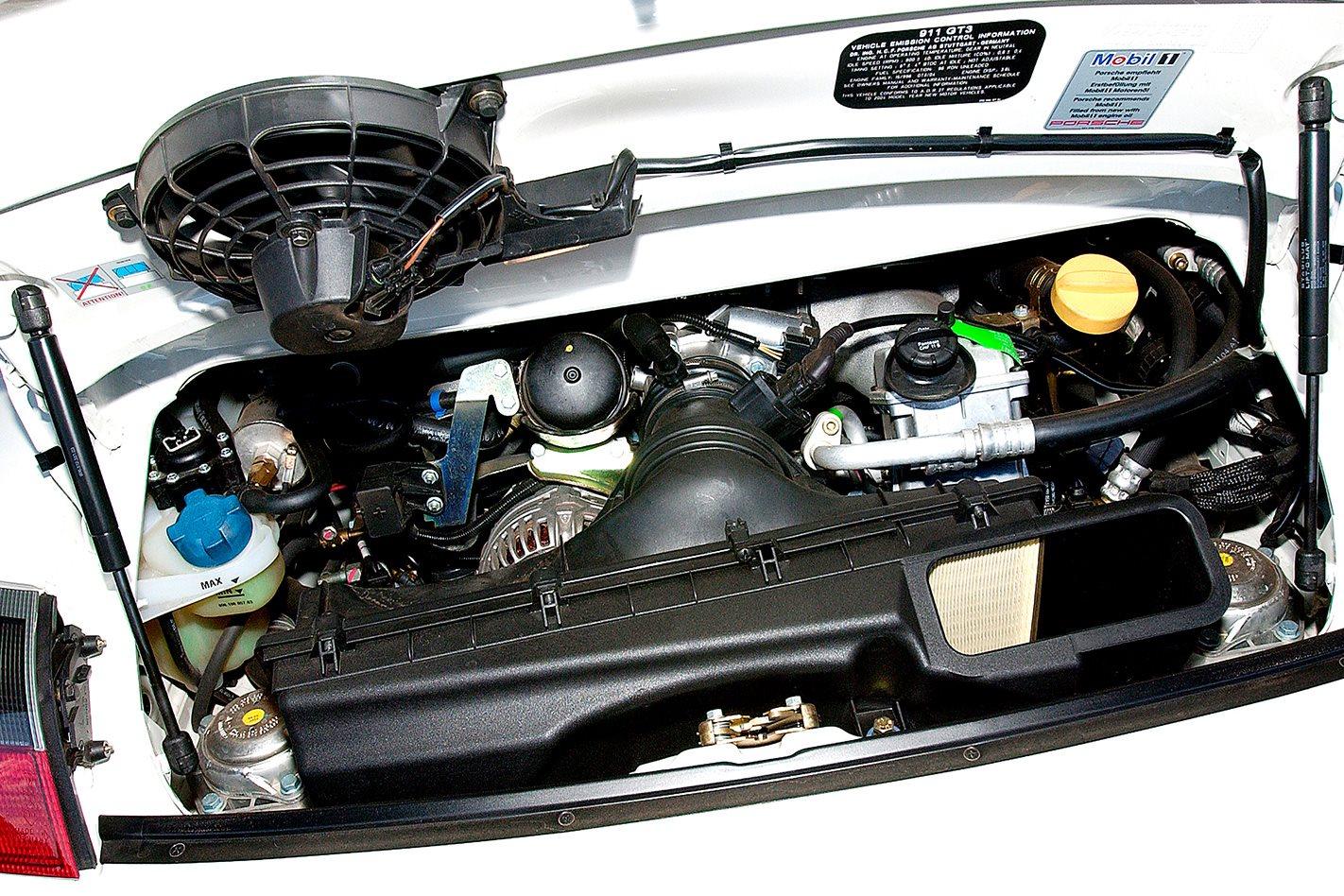 Porsche GT3 RS engine