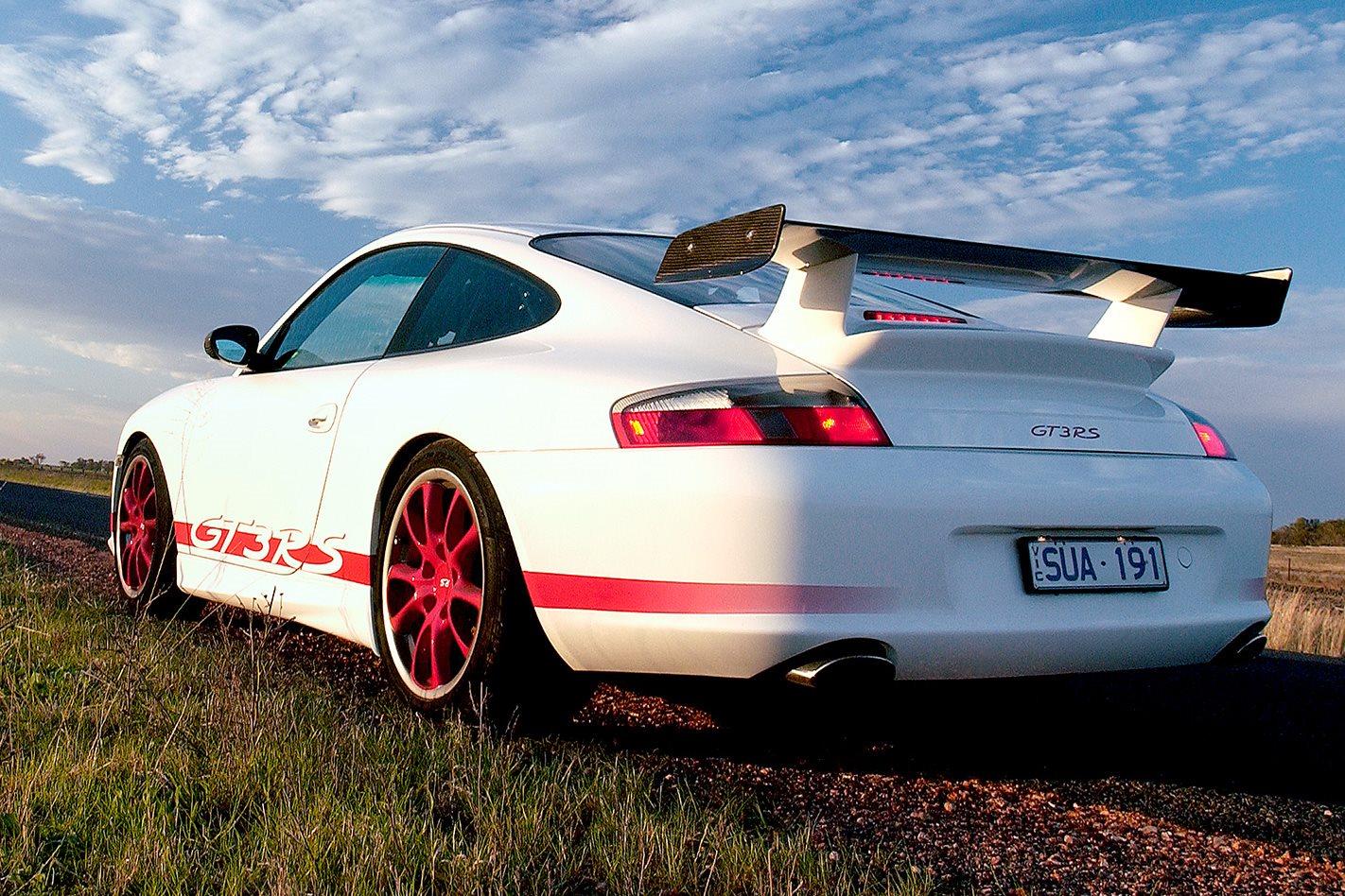 Porsche GT3 RS rear