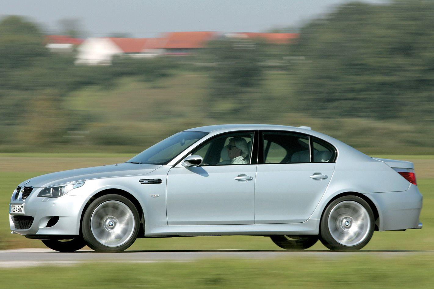 2005 E60 BMW M5 drive