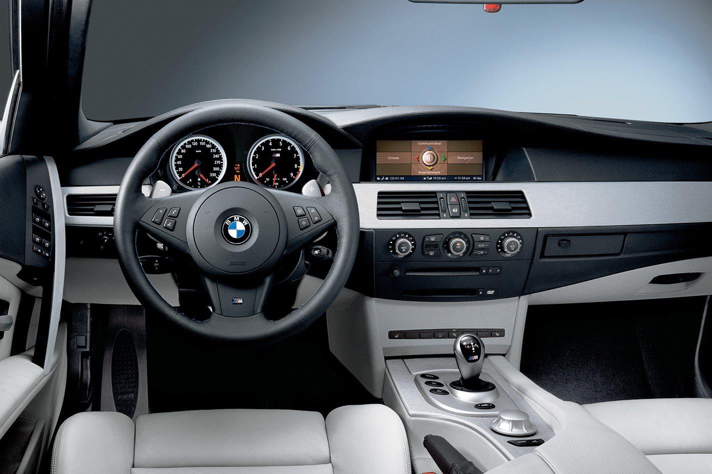 2005 E60 BMW M5 Interior