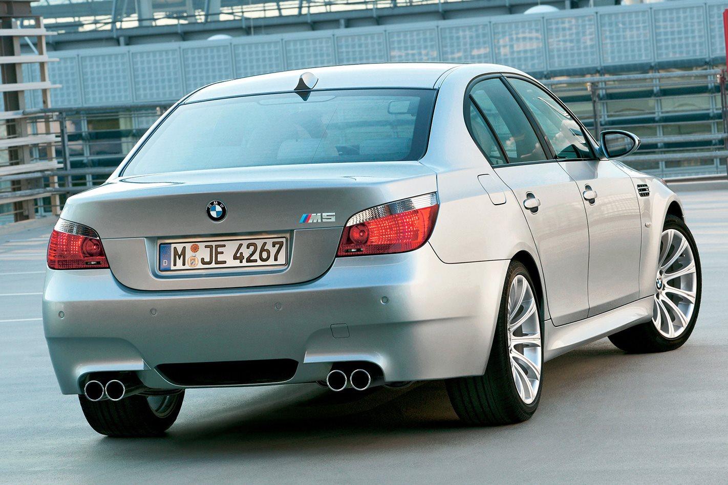 2005 E60 BMW M5 tailights