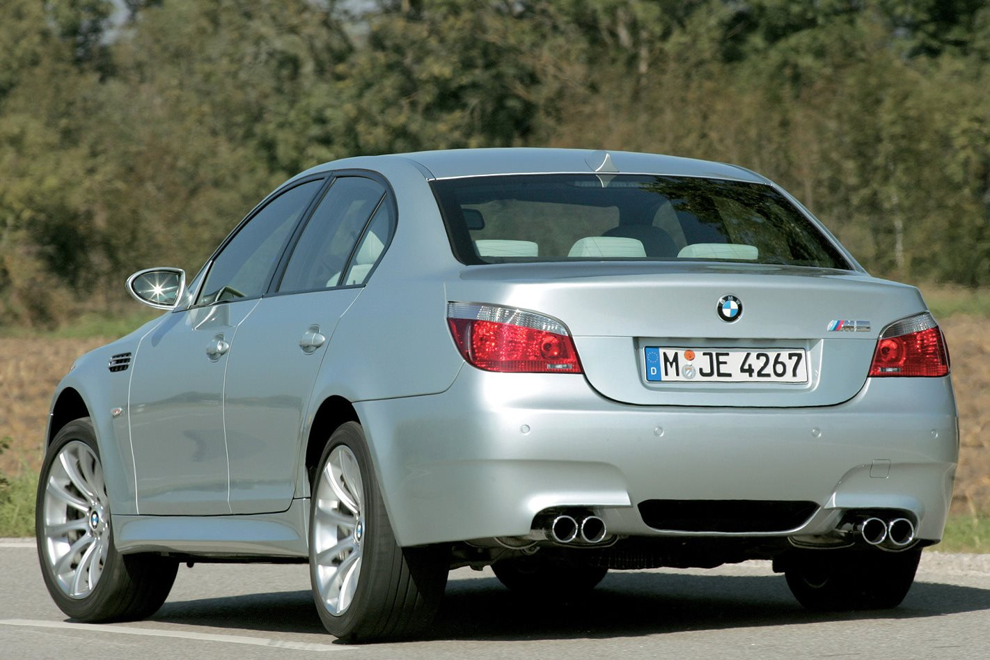 2005 E60 BMW M5 rear