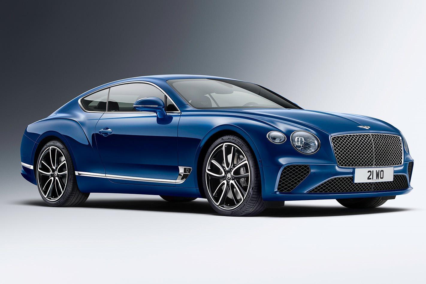 2018 Bentley Continental GT front