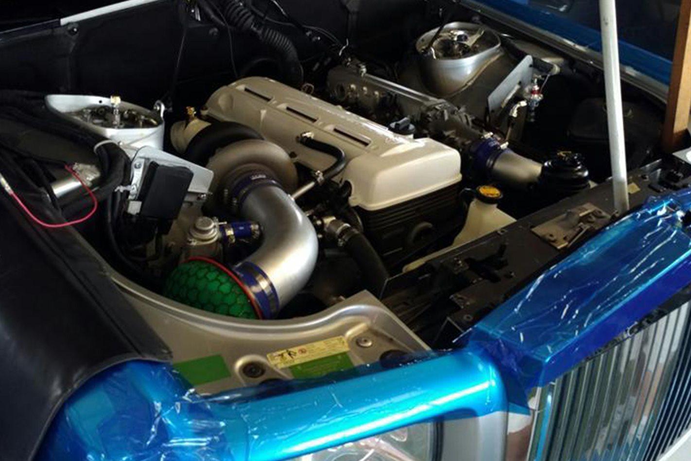 2jz Phantom engine swap