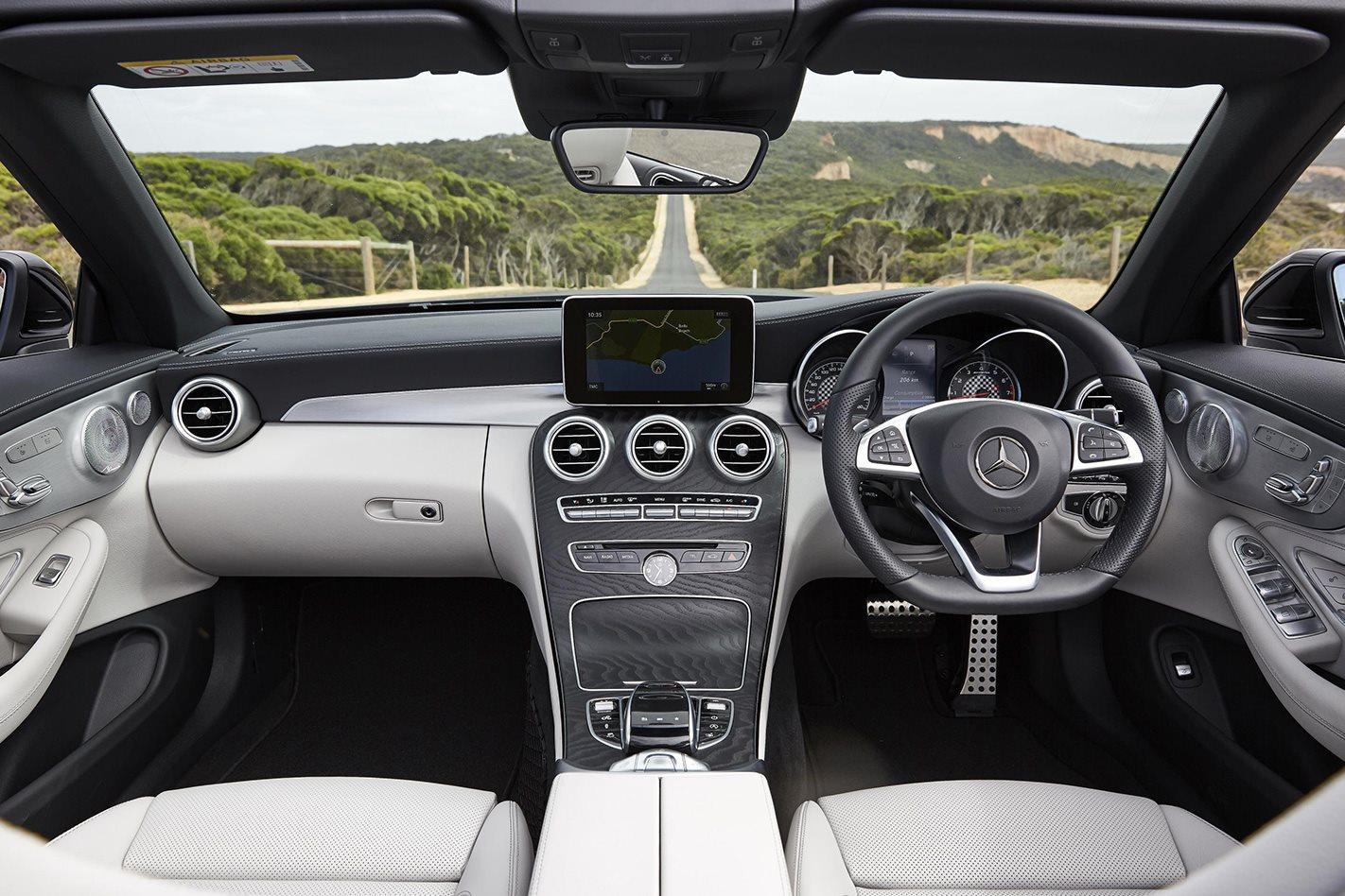 2017 Mercedes AMG C43 Cabriolet interior