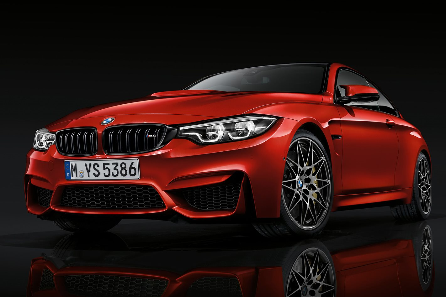 2018 BMW M4 Competition LCI front