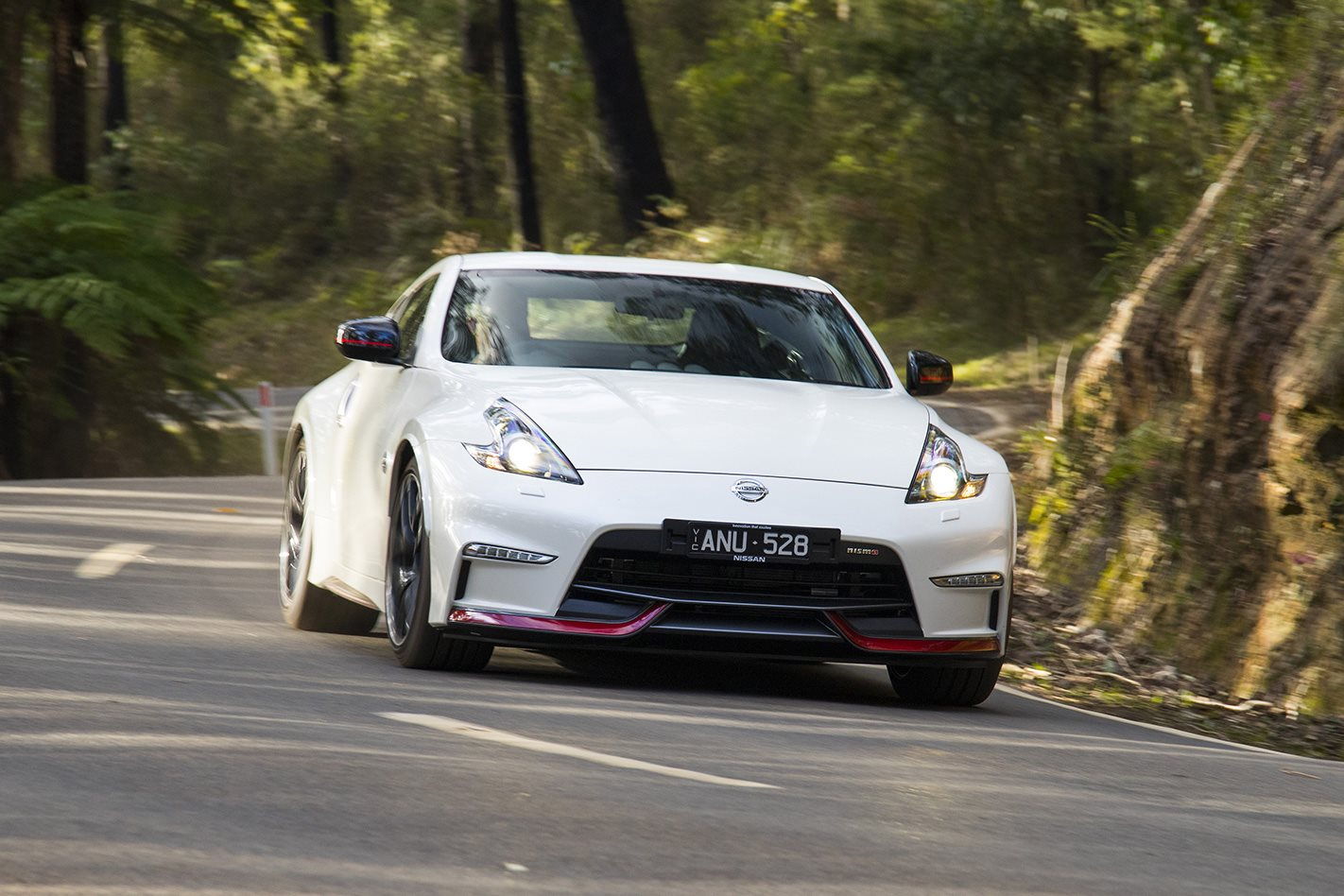 2018 Nissan 370Z Nismo front