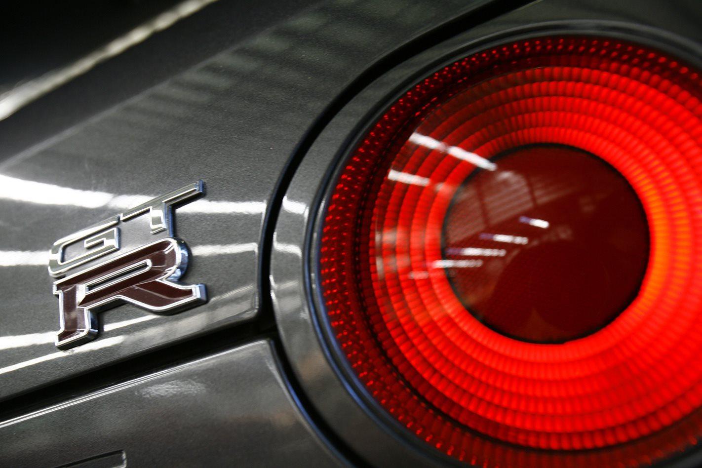 Nissan Skyline R32 GT-R badge
