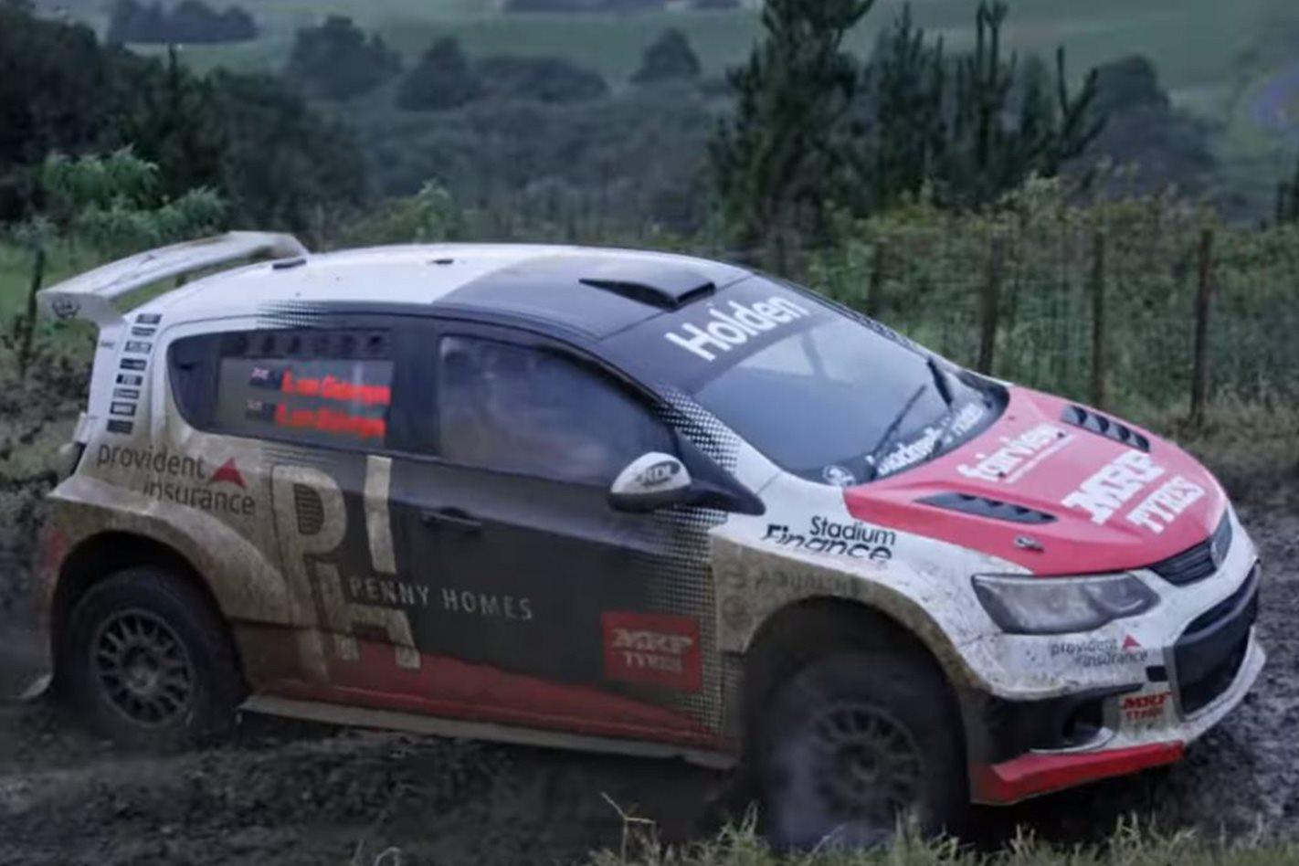 2017 Holden New Zealand Barina Rally Car